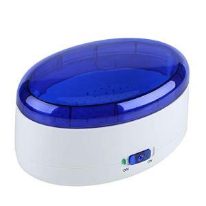 Hanper Nettoyeur de lunettes, nettoyeur à ultrasons numérique, avec USB, machine à ultrasons professionnelle avec plateau amovible, pour pièces de monnaie, médailles, quincaillerie