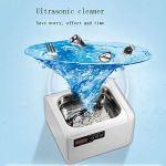 HYE Nettoyeur de Bijoux à ultrasons de Grande capacité 2.5L Nettoyeur à ultrasons avec minuterie numérique Puissance et température réglables pour Les Lunettes de prothèse de Rasoir de Collier