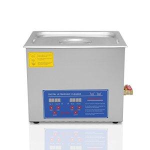TravelerK Nettoyeur à Ultrasons Appareil 10L Ultrasonic Cleaner Nettoyeur Digital Affichage Ultrasonique (10 L)