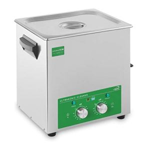 Ulsonix Nettoyeur Ultrason Professionnel Bac Ultrason Nettoyage Ultrason PROCLEAN 10.0M ECO (10 L, 180 W, Minuterie 60 min, Acier Inoxydable) Eco