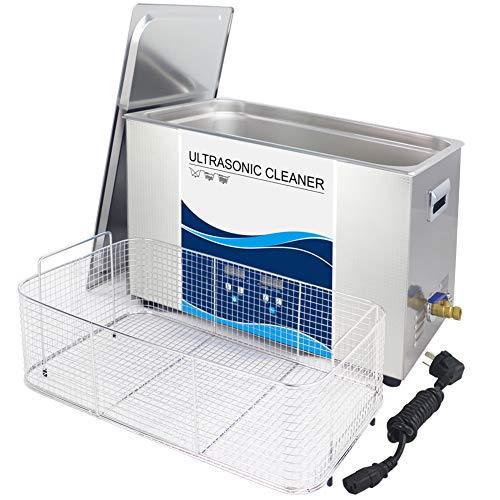LZH CLEANER Nettoyeur À Ultrasons Professionnel avec Réservoir 30L pour Le Nettoyage des Lunettes, Montres, Bagues, Rasoirs, Dentiers