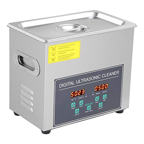 Nettoyeur Ultrasonique, 3L Nettoyeur à Ultrason Appareil Ultrasonic Cleaner Professionnel Nettoyeur Digital Affichage Ultrasonique 220V