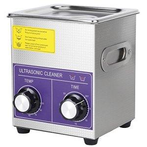 2L Nettoyeur à Ultrasons Laveuse à ultrasons numérique d'acier inoxydable Nettoyeur numérique ultra sonique Professionnelle Prise ain de nettoyage à ultrasons Prise UE 220V