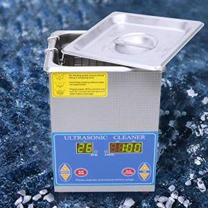 60w 1-99min nettoyeur à ultrasons étanche fournitures de nettoyage de laboratoire produit scientifique 100% tout neuf pour(European plug 200-240V)