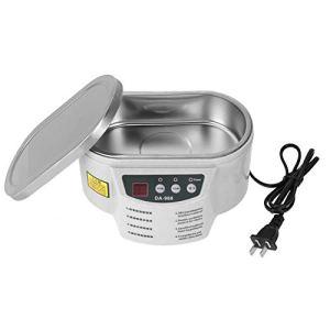 Nettoyeur à ultrasons, interrupteur de puissance de réservoir de nettoyeur à ultrasons professionnel en plastique 600 ml