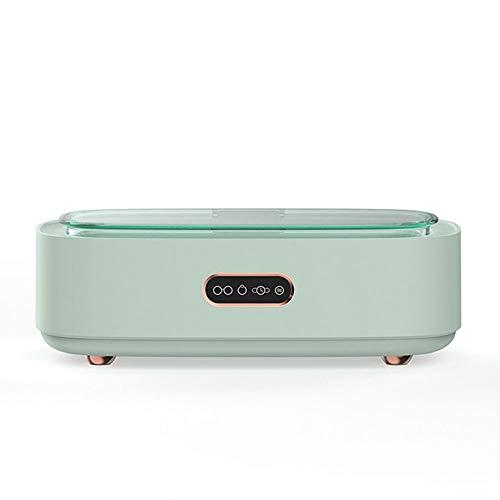 OUYA Nettoyeur à ultrasons Professionnel 300ML 45KHz Machine de Nettoyage de Bijoux électrique, Nettoyeur à Vapeur Domestique 15W pour utilisé pour Les Lunettes et Les Bijoux, etc,Vert