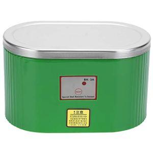 SALUTUYA Nettoyeur ultrasonique Professionnel, Machine à Laver ultrasonique Haute Puissance pour Le Nettoyeur de Montres Bijoux 0.4L BK-3A AC(Prise UE 220V)