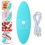Cocosity Nettoyeur à ultrasons, Outil de Bain de Gommage, Mini-Machine de Nettoyage Confortable de Chargement USB, Fruits de Lunettes de légumes pour Laver Les sous-vêtements