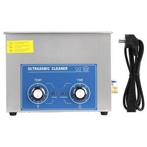 EBTOOLS Nettoyeur ultrasonique, machine de nettoyage à ultrasons pour anti-cernes, télescopes, jade, bijoux, montres (15L)