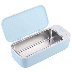 Nettoyeur à ultrasons en Acier INOX, Nettoyeur à ultrasons 450 ml Appareil de lavage 46000 Hz pour bijoux/montres/lunettes/instruments dentaires/instruments de laboratoire étanches(100-240 V)
