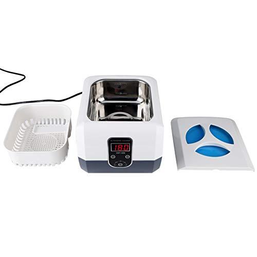 Outil de désinfection de stérilisation à économie d'énergie de nettoyeur à ultrasons numérique professionnel pour montre de lunettes de bijoux(UE AC200 ~ 240V, 50Hz)