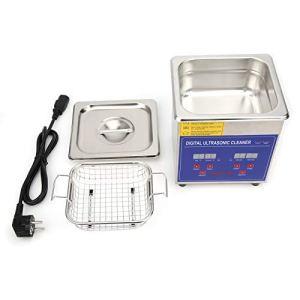 1.3L Nettoyeur à ultrasons Machine de nettoyage à ultrasons numérique Nettoyeur ultrasonique numérique en acier inoxydable Réservoir de nettoyeur à ultrasons Nettoyeur de bijoux 220V