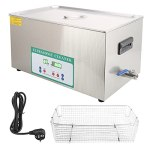 22L 480W Nettoyeur à Ultrasons Minuterie Machine à Laver à Ultrasons Machine de Nettoyage de Bain de Réservoir Ultra Sonique(EU plug)