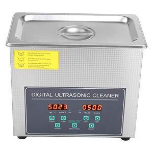 Ausla Nettoyeur à ultrasons 3L avec écran LCD en Acier Inoxydable, Double fréquence, Prise européenne 220V, 28 kHz