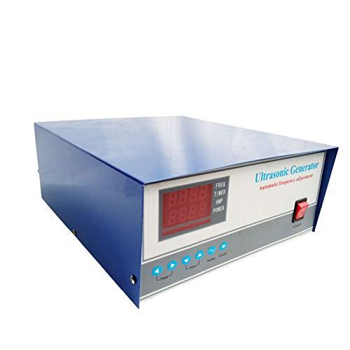 CGOLDENWALL Générateur ultrasonique numérique à double fréquence 300 W Nettoyeur à ultrasons pour bijoux/verre Nettoyeur à ultrasons Machine de nettoyage à vibrations (80 kHz)