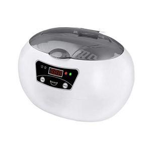 LSY Nettoyeur À Ultrasons 600 ML, 40Khz Nettoyeur Ultrasonique Appareil 18 Temps Fonctionnement Réglables pour Lunettes Bijoux Montres Dentiers