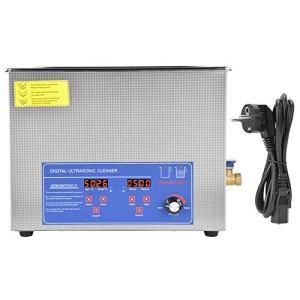 Machine de nettoyage à ultrasons à température réglable , Nettoyeur à ultrasons numérique Nettoyeur à ultrasons à température réglable 40 kHz(60AL)