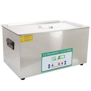 Nettoyeur ultrasonique de bijoux, 0-80 ℃ Machine de nettoyage ultrasonique professionnelle de contrôle de la(AC220V European plug)