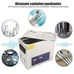 PS-30A 6.5L Machine à Laver Ultrasons Nettoyeur à Ultrasons Outils de Nettoyage avec Minuterie Chauffage Affichage Numérique Réservoir d'Eau 11,8 x 6,1 x 5,9 Pouces(EU Plug AC 220V)