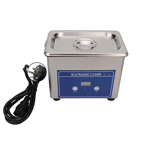 SALUTUYA Machine de Nettoyage de Bijoux avec Nettoyeur à ultrasons, pour Nettoyer Les Lunettes, Fausses Dents, pour Nettoyer Le matériel ménager