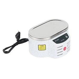 SeniorMar Mini Bain de Nettoyage à ultrasons Pratique de 30 W pour Le Nettoyage du Panneau de Lunettes de Collier 963963 Nettoyeur à ultrasons