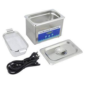 Ausla Nettoyeur à ultrasons, Machine de Nettoyage à Haute efficacité 800 ML EU Plug pour Bijouterie
