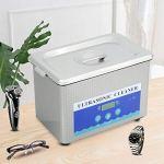Cerlingwee Nettoyeur à ultrasons, Machine de Nettoyage EU Plug 800ml pour Bijouterie