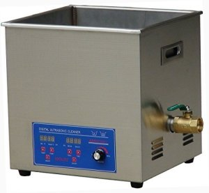 MXBAOHENG KS-080HAL2 Nettoyeur à ultrasons pour bijoux Affichage numérique industriel haute fréquence 120 kHz 20 l avec panier (110 V)