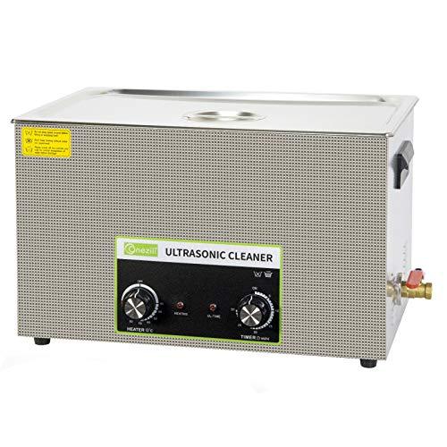 Nettoyeur à ultrasons professionnel, panier numérique et minuterie, pour le nettoyage de grandes cartes de circuits imprimés,pieces en metal,bijoux,lunettes,montres,dentiers