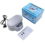 Mini Nettoyeur à ultrasons Bijoux Lunettes Circuit imprimé Machine de Nettoyage contrôle Intelligent Nettoyeur à ultrasons Bain
