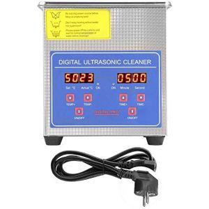 Nettoyeur à ultrasons, minuterie de chauffage à large application pour les ateliers de bijouterie