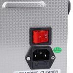 Nettoyeur de bijoux à ultrasons – 4,5 l – En acier inoxydable – Mécanique – 240T (prise UE)