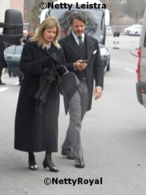 Fürstin Milana and Hereditary Prince Christian zu Fürstenberg.