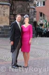 Prince Georg Friedrich and Princess Sophie of Prussia.