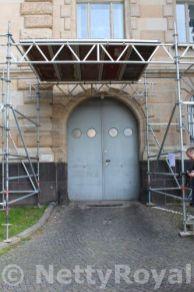 Back entrance