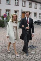 Prince Amedeo of Belgium and his wife. Copyright: Gabi P.