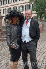 Fürst Alexander zu Schaumburg-Lippe and girlfriend. Copyright: Gabi P.
