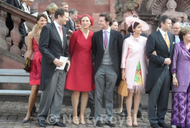 Among others Prince Georg Friedrich and Princess Sophie of Prussia. Copyright: Gabi P.