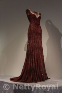 Not Queen Mathilde's own dress, but she did wear the design.