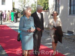 Archduchess Anna Gabriela, Fürst von Auersperg-Breunner, Archduchess Maria Anna