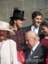 Prince Jean-Christophe Napoléon & Countess Olympia Arco-Zinneberg