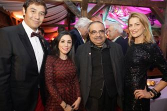 Baron Henri Estramant (Royal Bridges), Hanna Jaff, Sheikh Salman bin Khalifa al Khalifa of Bahrain, Princess Tatiana of Greece