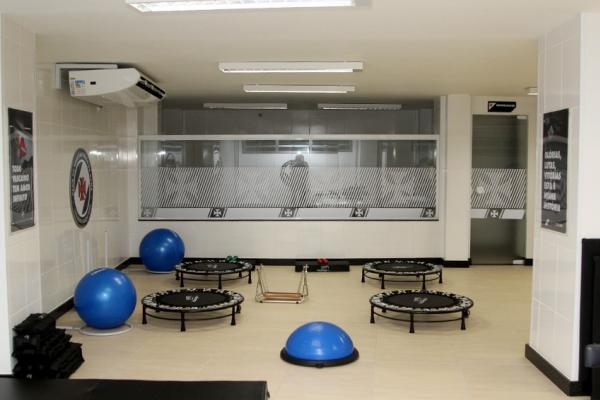 Área destinada no Caprres/Base para trabalhos especiais da preparação física e da fisioterapia