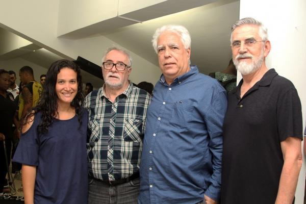 Lívia Prates, José Mourão, Egas Manoel e Dr. Jorge Dias