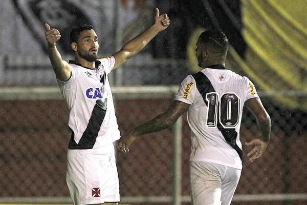 Gilberto defendeu o Vasco em 2015