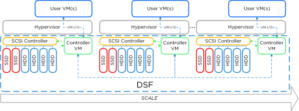 dsf_overview Cluster Architecture