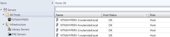 vmmhosts Windows Azure Pack