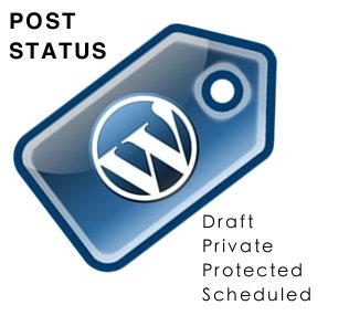 Wordpress Post Status - how to change