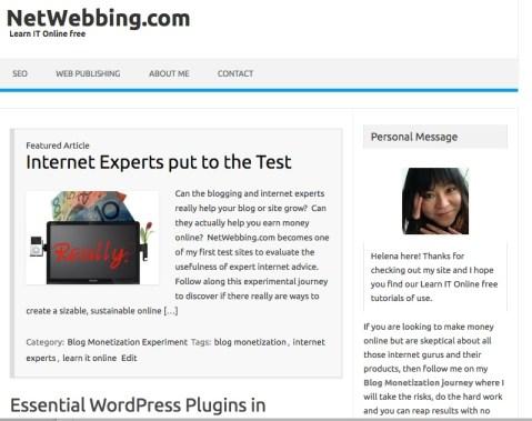 wordpress theme IconicOne