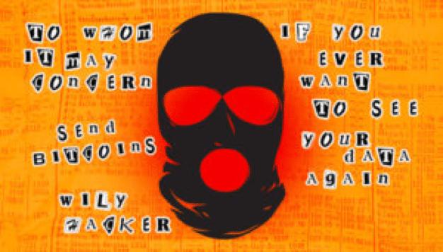 hacker ransom note
